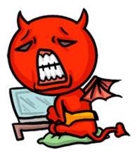 Funny Devil ONLINE sticker #1748946