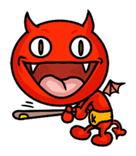 Funny Devil ONLINE sticker #1748950