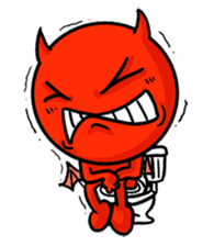 Funny Devil ONLINE sticker #1748963