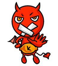 Funny Devil ONLINE sticker #1748979