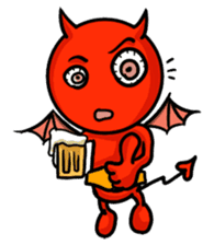 Funny Devil ONLINE sticker #1748980