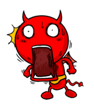 Funny Devil ONLINE sticker #1748981