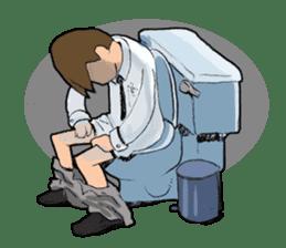Toilet Man sticker #1748990