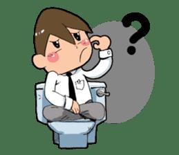 Toilet Man sticker #1748997