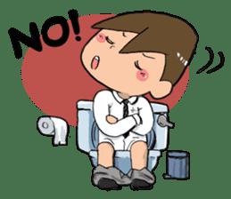 Toilet Man sticker #1748998