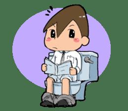 Toilet Man sticker #1749010