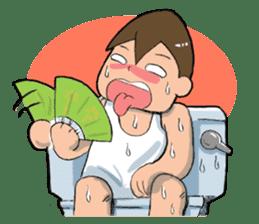Toilet Man sticker #1749018