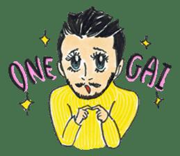 ENJOY GAY LIFE sticker #1749872