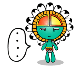 Kokopelli & Kachina friends WORLD ver. sticker #1750729