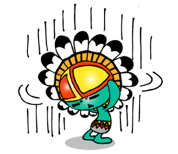 Kokopelli & Kachina friends WORLD ver. sticker #1750731
