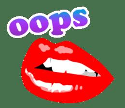 SEXY LIPS sticker #1753316