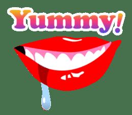 SEXY LIPS sticker #1753337