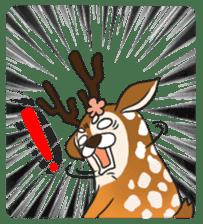 Male Sister Deer sticker #1755719