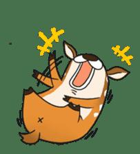 Male Sister Deer sticker #1755734