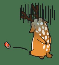 Male Sister Deer sticker #1755736