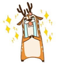 Male Sister Deer sticker #1755740