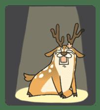 Male Sister Deer sticker #1755741