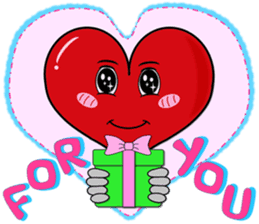 Heartie Emotions for All sticker #1758414