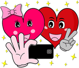 Heartie Emotions for All sticker #1758435