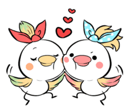 FUNNY BIRD sticker #1759642