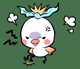 FUNNY BIRD sticker #1759645
