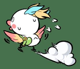 FUNNY BIRD sticker #1759665