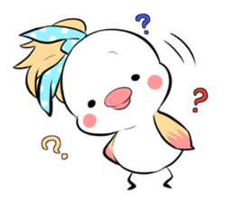 FUNNY BIRD sticker #1759675