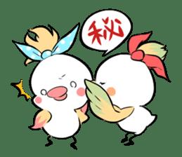 FUNNY BIRD sticker #1759677