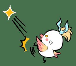 FUNNY BIRD sticker #1759678
