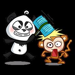 Banda & Monkey - The best friend ever