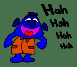 Blue Robot sticker #1768512