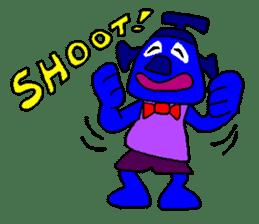 Blue Robot sticker #1768519