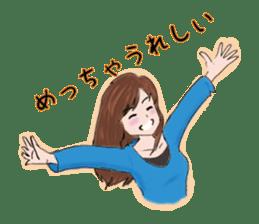 Hearted story of Osaka,Japan sticker #1768977
