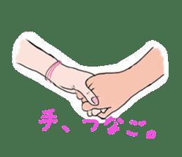 Hearted story of Osaka,Japan sticker #1768978
