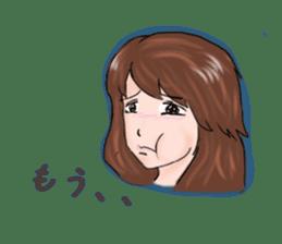 Hearted story of Osaka,Japan sticker #1768979