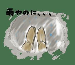 Hearted story of Osaka,Japan sticker #1768983