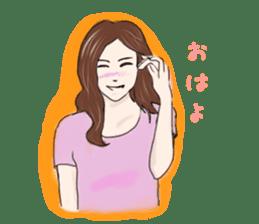 Hearted story of Osaka,Japan sticker #1768993