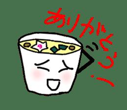 Mr.Instant noodle sticker #1769425