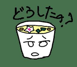 Mr.Instant noodle sticker #1769430