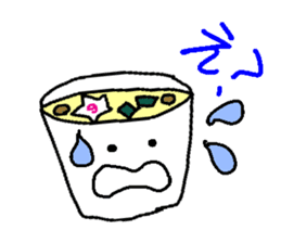 Mr.Instant noodle sticker #1769432