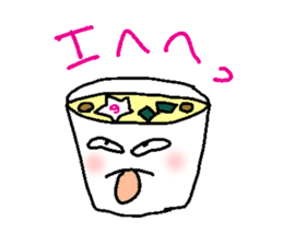 Mr.Instant noodle sticker #1769443