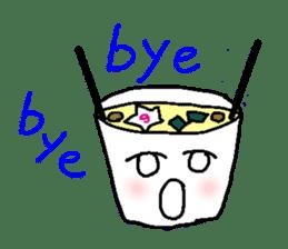 Mr.Instant noodle sticker #1769456