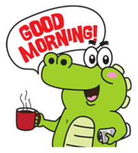 Roco the Crocodile sticker #1771381
