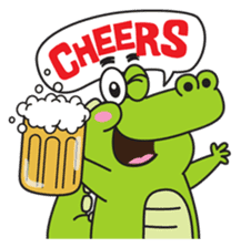 Roco the Crocodile sticker #1771391