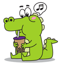 Roco the Crocodile sticker #1771393