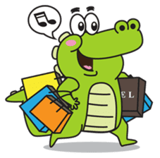 Roco the Crocodile sticker #1771395
