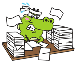 Roco the Crocodile sticker #1771396