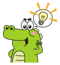Roco the Crocodile sticker #1771399