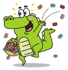 Roco the Crocodile sticker #1771402