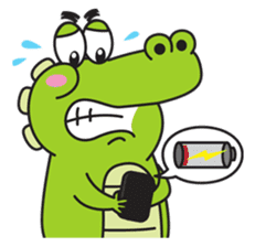 Roco the Crocodile sticker #1771408